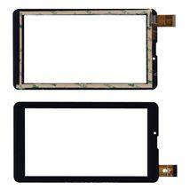 Тачскрин (Сенсорное стекло) для планшета FPC-CY070171(K71)-00 черный для TEXET TM-7049 TM7049, TM-7046, TM-7059,  SUPRA M722G, ONDA V7, Explay S02 3G, Explay Hit 3G, Explay Surfer 7.34 3G, DIGMA HIT 3G. Шлейф: FPC-CY070171(K71)-00, FX-706-02 KDX. PM1552160P70BV01