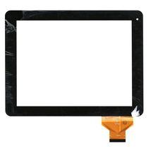 Тачскрин (Сенсорное стекло) для планшета QSD E-C97001-01, DNS AirTab M975W, Iru A9701 черный