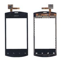 Тачскрин (Сенсорное стекло) для смартфона Acer Liquid mini E310 черный