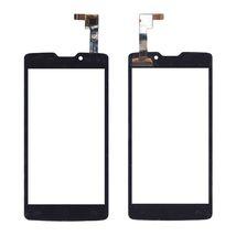 Тачскрин (Сенсорное стекло) для смартфона DNS S4507 черный