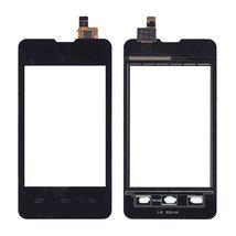 Тачскрин (Сенсорное стекло) для смартфона Explay A351 Solo черное