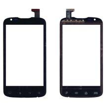 Тачскрин (Сенсорное стекло) для смартфона Explay Advance черное
