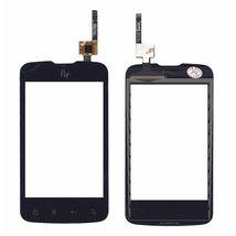 Тачскрин (Сенсорное стекло) для смартфона Fly IQ238 Jazz черный
