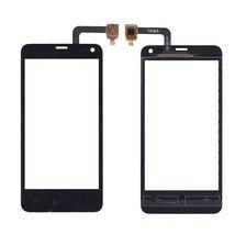 Тачскрин (Сенсорное стекло) для смартфона Fly IQ4416 ERA Life 5 черный