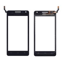 Тачскрин (Сенсорное стекло) для смартфона Huawei Ascend G600 (Honor Pro) черный
