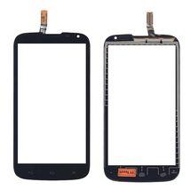 Тачскрин (Сенсорное стекло) для смартфона Huawei Ascend G610 черный