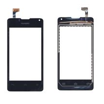 Тачскрин (Сенсорное стекло) для смартфона Huawei Ascend Y300 черный