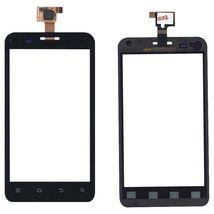 Тачскрин (Сенсорное стекло) для смартфона ZTE V807 Blade C черный