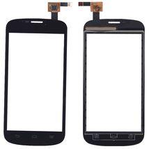 Тачскрин (Сенсорное стекло) для смартфона ZTE V829 черный
