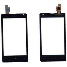 Тачскрин (Сенсорное стекло) Microsoft Lumia 532 Dual Sim черный