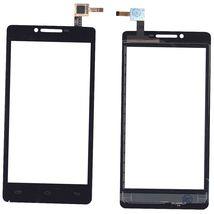 Тачскрин (Сенсорное стекло) для смартфона Prestigio MultiPhone 5500 DUO черный
