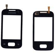 Тачскрин (Сенсорное стекло) для смартфона Samsung Galaxy Pocket GT-S5300 черный