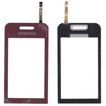 Тачскрин (Сенсорное стекло) для смартфона Samsung Star GT-S5230 красный