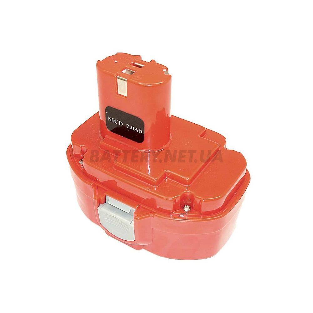 аккумулятор для Makita 1820 Makita 1822 Ni CD 18в 2 0Ah