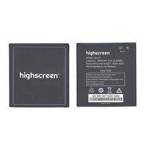 Оригинальная аккумуляторная батарея для смартфона Highscreen Zera F rev.S 3.7V Black 1600mAh 5.55Wh