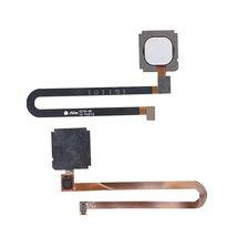Шлейф со сканером отпечатка пальца для Xiaomi Mi 5S Plus белый