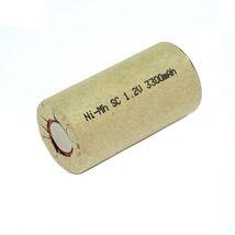 Аккумулятор для электроинструмента Ni-Mh SC 1.2V 3300mAh