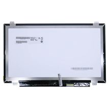 """Матрица для ноутбука 14,0"""", Slim (тонкая), 30 pin eDP (снизу справа), 1920x1080, Светодиодная (LED), крепления вверх/вниз, матовая, AU Optronics (AUO), B140HTN01.4"""