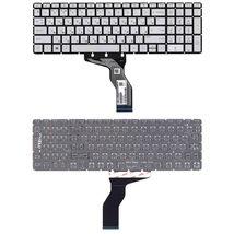 Клавиатура HP (15-BW 250 G6) Silver с подсветкой (Light), (No Frame) RU