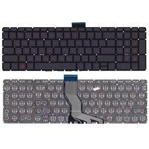 Клавиатура для ноутбука HP Pavilion (15-ab) Black с красной подсветкой (Red Light), (No Frame) RU