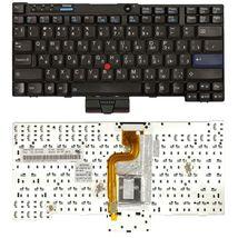 Клавиатура Lenovo ThinkPad (X200, X201) с указателем (Point Stick) Black RU