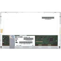 "Матрица для ноутбука 10,1"", Normal (стандарт), 40 pin (снизу справа), 1366x768, Светодиодная (LED), без креплений, матовая, BOE-Hydis"