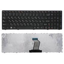 Клавиатура для ноутбука Lenovo IdeaPad (Z560, Z565, G570, G770) Black, (Black Frame), RU