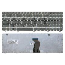 Клавиатура для ноутбука Lenovo IdeaPad G580, G585, Z580, Z585, Z780 Black, (Gray Frame), RU