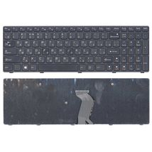 Клавиатура Lenovo IdeaPad (G500, G700), Black, (Black Frame) RU