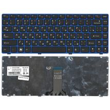 Клавиатура Lenovo IdeaPad (Z470, G470Ah, G470GH, Z370) Black, (BlueFrame), RU