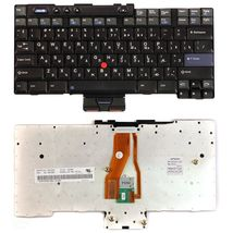 Клавиатура Lenovo ThinkPad (T40) с указателем (Point Stick) Black RU