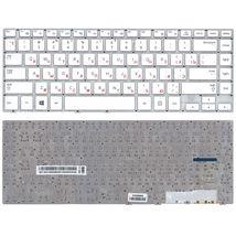 Клавиатура для ноутбука Samsung (470R4E, BA59-03680A) White, (No Frame), RU