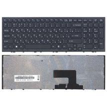 Клавиатура Sony Vaio (VPC-EE, VPCEE) Black, (Black Frame) RU