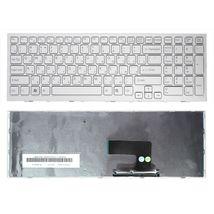 Клавиатура Sony Vaio (VPC-EE, VPCEE) White, (White Frame) RU