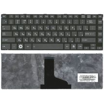 Клавиатура Toshiba Satellite (L800, L830) Black, (Black Frame) RU