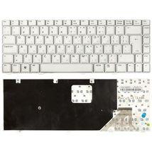 Клавиатура для ноутбука Asus (W3, W3J, A8, F8, N80) Silver, RU (вертикальный энтер)