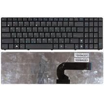 Клавиатура для ноутбука Asus N50, N51, N61, F90, N90, UL50, K52, A53, K53, U50 Black, RU