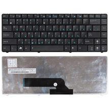 Клавиатура Asus (K40, K40AB, K40AC, K40AD, K40AF, K40AC) Black, RU