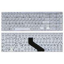 Клавиатура Acer Gateway (NV55S) Silver, (No Frame), RU