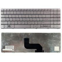 Клавиатура для ноутбука Acer Gateway (NV40, NV42, NV44, NV48, NV52, NV53, NV54, NV56, NV58, NV59, NV73, NV74, NV78, NV79, NV-40, NV-42, NV-44, NV-48, NV-52, NV-53, NV-54, NV-56, NV-58, NV-59, NV-73, NV-74, NV-78, NV-79), Packard Bell (TJ61, TJ64, TJ66, TJ68, TJ73, TJ75, TJ76, TJ77) Silver, (No Frame), RU