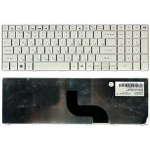 Клавиатура для ноутбука Acer Packard Bell (TM81) White, (No Frame), RU
