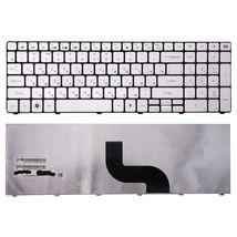 Клавиатура для ноутбука Acer Packard Bell (TM81, TM82, TM86, TM87, TM89, TM94) Silver, (No Frame) RU