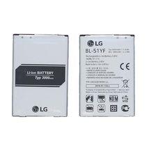 Оригинальная аккумуляторная батарея для смартфона LG BL-51YF G4 H818 3.85V Silver 3000mAh 11.6Wh