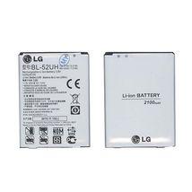 Оригинальная аккумуляторная батарея для смартфона LG BL-52UH L70 D325 3.8V Silver 2100mAhr 8Wh