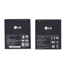 Оригинальная аккумуляторная батарея для смартфона LG BL-53QH P880 Optimus 4X HD 3.8V Black 2150mAh 8.2Wh