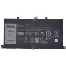 Оригинальная аккумуляторная батарея для планшета Dell 7WMM7 Venue 11 Pro 7.4V Black 3520mAhr 28Wh
