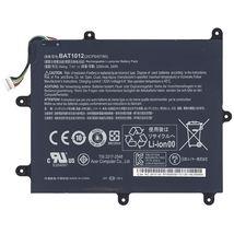 Оригинальная аккумуляторная батарея для планшета Acer BAT1012 Iconia Tablet A200 7.4V Black 3280mAhr 24Wh