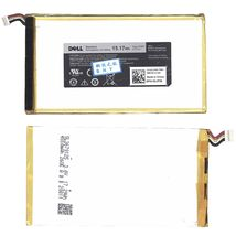 Оригинальная аккумуляторная батарея для планшета Dell P706T Venue 7, Venue 8 3.7V White 4550mAh 15.17Wh
