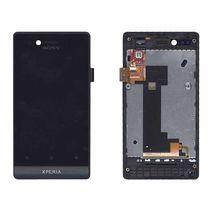 Матрица с тачскрином (модуль) для Sony Xperia miro ST23i