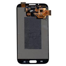 Матрица с тачскрином (модуль) для Samsung Galaxy Note 2 GT-N7100 черный
